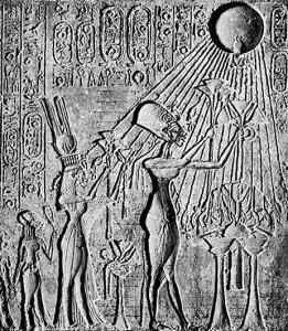 Fig. 14. Muestra para copiar en las paredes, encontrada en la sala 4 de la TA26. Museo de El Cairo.