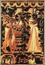 Tutankhamon, imagen viva de Amón