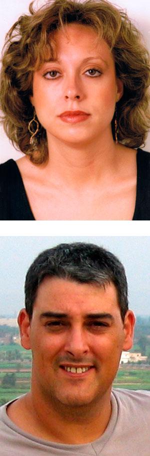 Pilar y Miguel Ángel.
