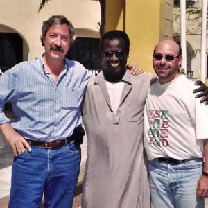 Víctor en su primer viaje a Egipto con Jaume.