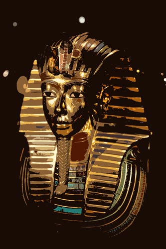 Fig. 1. Máscara de Tutankhamon.
