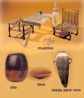 Las viviendas egipcias la cocina amigos del antiguo egipto for Utensilios antiguos de cocina