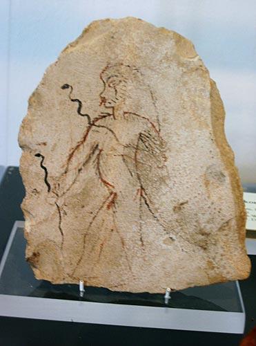 Fig. 4.- (Jaume Vivó). El dios Bes era el protector contra los peligros que acechaban a la madre y al hijo (Hildesheim)