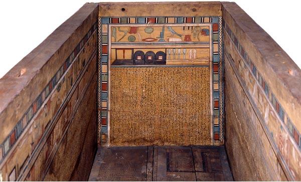 Fig. 1. Ataúd del médico Gua (Museo Británico EA 30840).