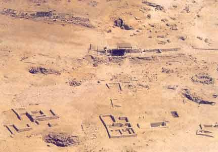 Fig. 4. Barrio de Deir el-Medina en la actualidad.