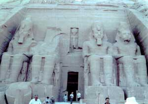 Fig. 75. Abu Simbel.