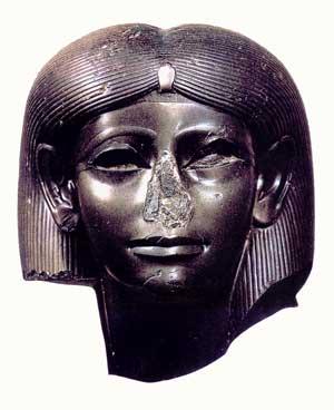 Fig. 79. Cabeza de la reina Sebeknefrure la belleza de Sobek. Museo de Brooklyn Nueva York.