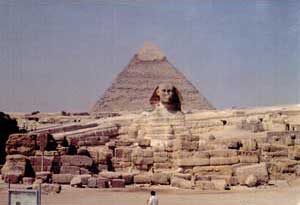 Fig. 91. Area de la Esfinge de Giza.