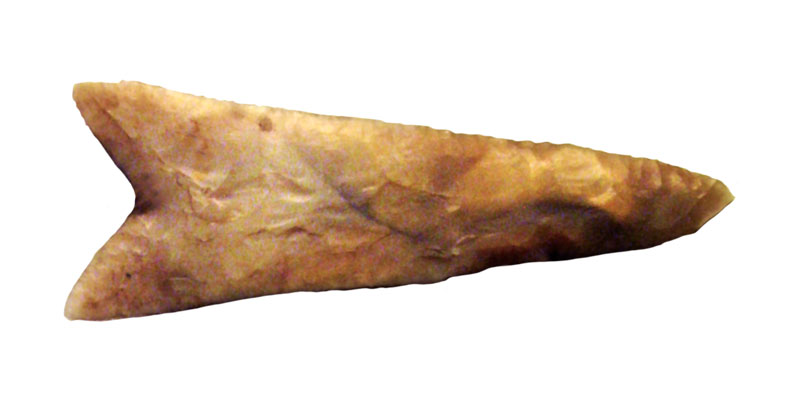 Fig.1. Peseshkef de sílex.