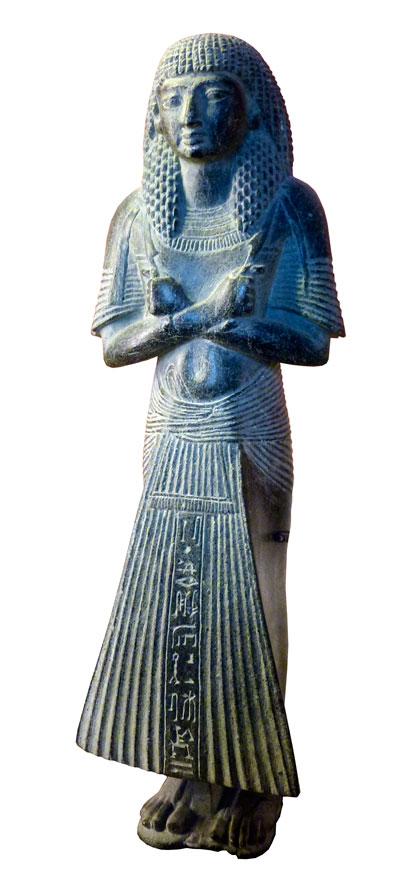 Fig. 5. Ptahmes, Din. XIX. Museo del Louvre. París.