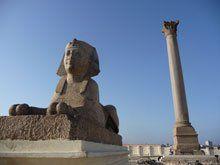 Columna de Pompeyo y Serapeo