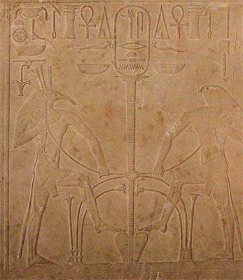 Lisht, templo funerario de Sesostris I. Imperio Medio, XII dinastía