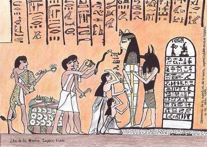 Libro de los Muertos. Imperio Nuevo