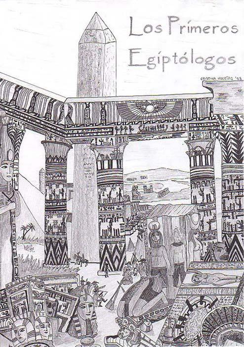 Los primeros Egiptólogos