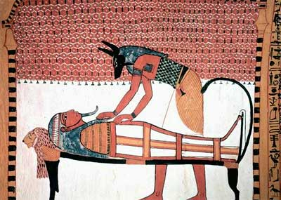 Imagen ilustrativa de una tumba