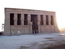 Templo de Hathor en Dendera (año 2004)
