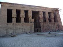 Templo de Hathor en Dendera (año 2010)