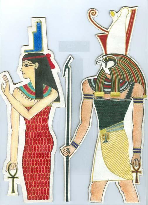 Isis y Horus