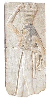 Bajo relieve. Dinastía XXVI