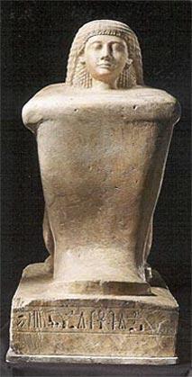 Estatua del general Sobekhotep. Din.XIX
