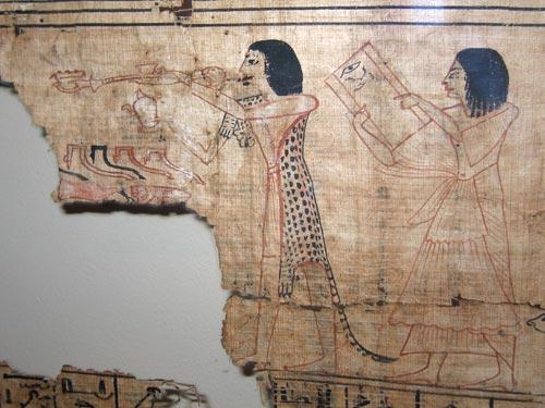 Fragmento de Libro de los Muertos
