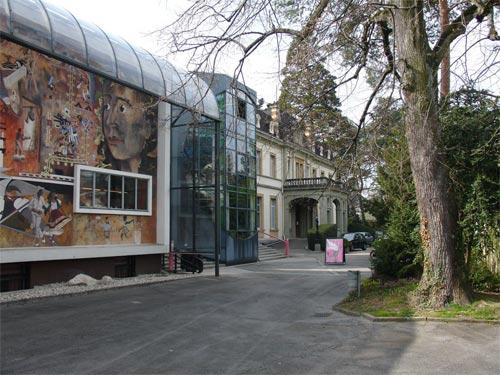 Vista de la entrada al museo etnográfico