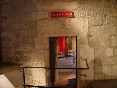 Entrada a la sala nº 6