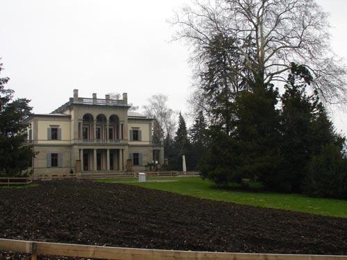 Vista de Villa Wesendonck