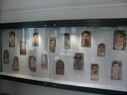 Retratos romanos de los llamados de El-Fayum