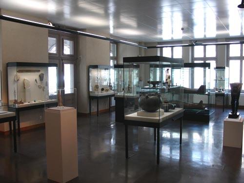 Vista general de la sala egipcia