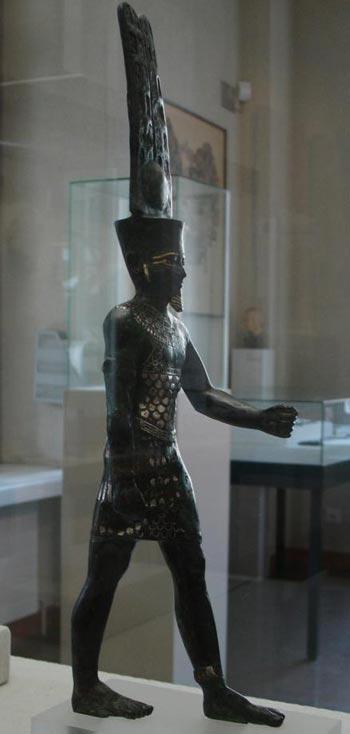 Estatua del dios Amón