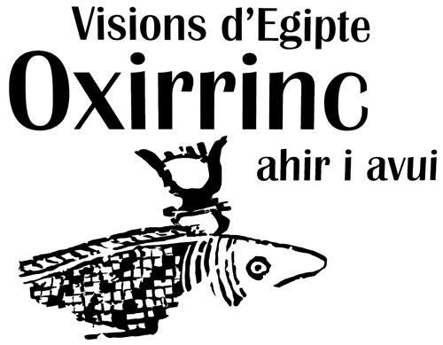 """Fig. 6. Cartel de la exposición """"Visions d'Egipte Oxirrinc""""."""