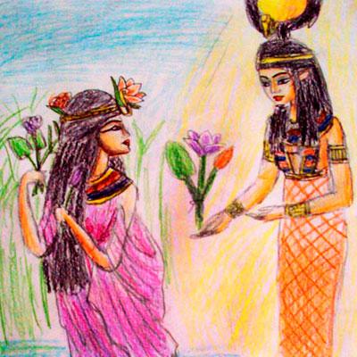Egipcios Amigos – Antiguo Del Cuentos Y Egipto Leyendas uKFJ3T1lc