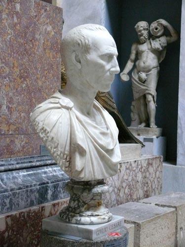 Busto de Julio Cesar