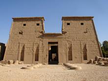 Templo de Jonsu en Karnak