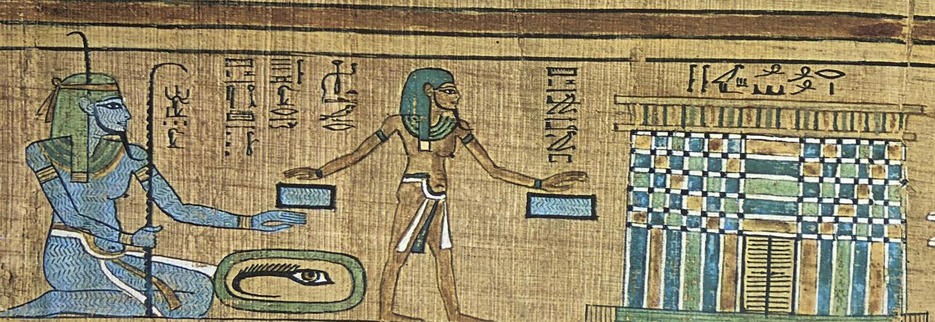 Imagen 5. Papiro de Ani. Similitud con la viñeta de la imagen 2