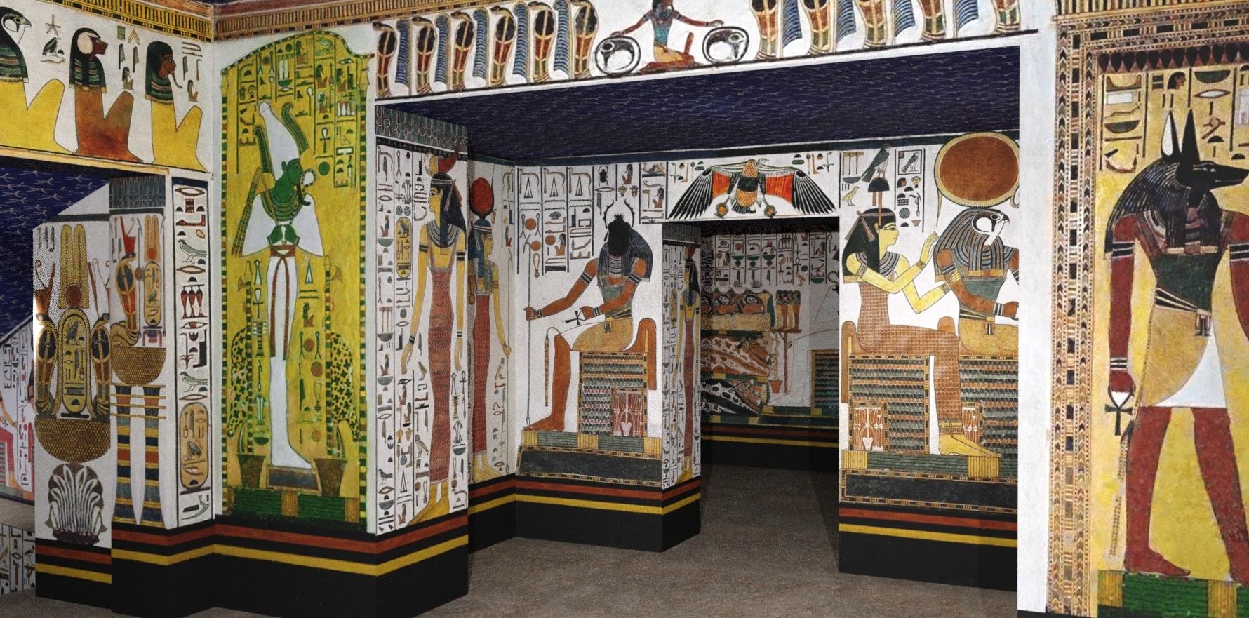 Imagen 8. Reconstrucción del muro este, dintel y vestíbulo