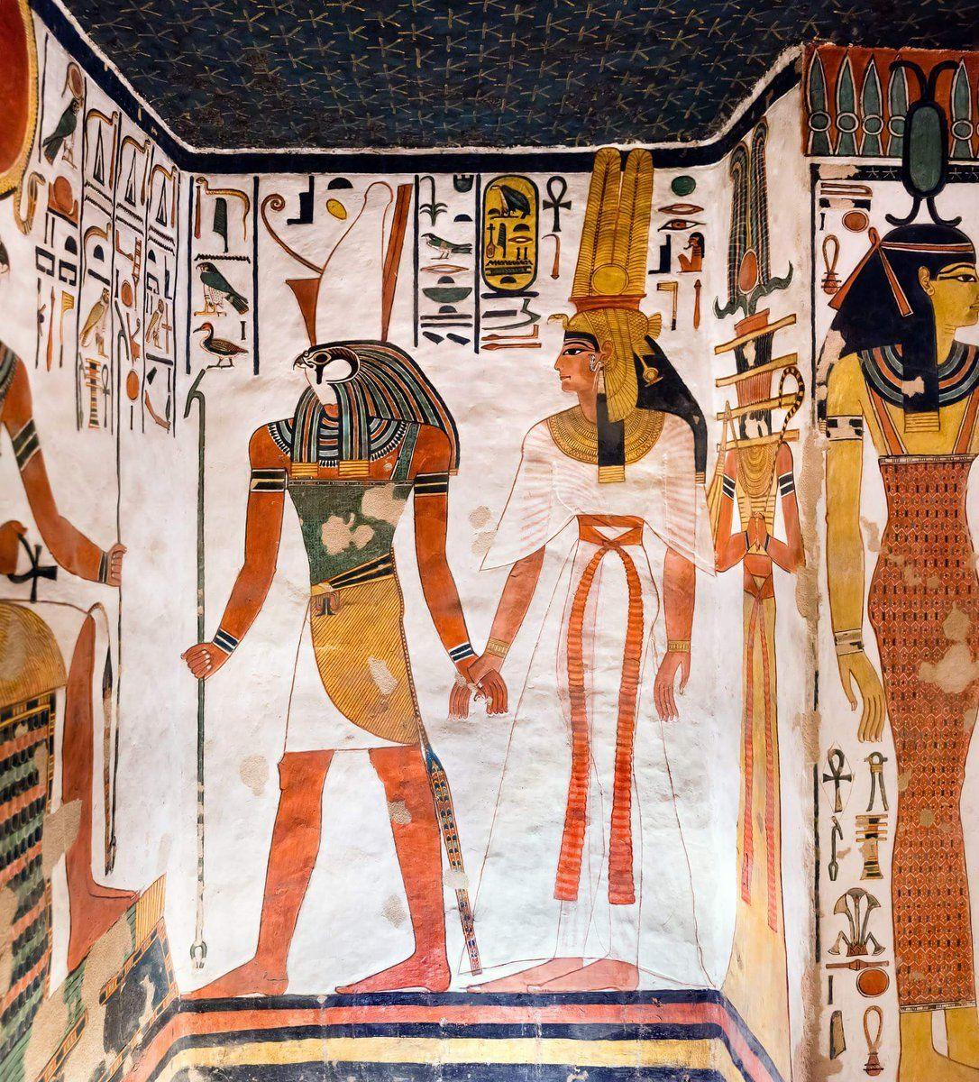 Imagen 7- Harsiase conduce a Nefertari