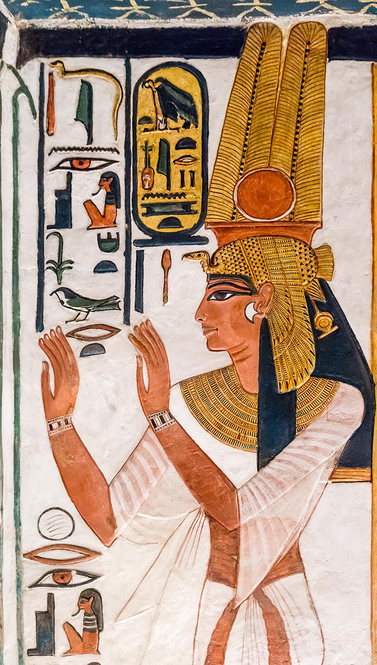 Imagen 9. Nefertari en muro oeste