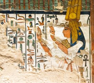 Imagen 9. Nefertari ante los portales