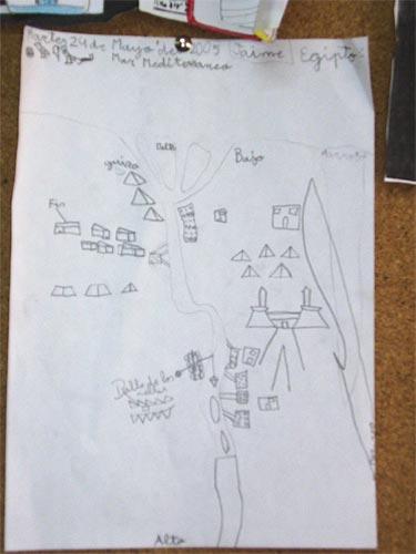 Dibujo realizado por Jaime