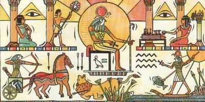El dios Ra faraón
