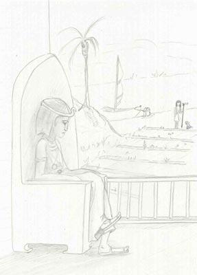 El faraón Dyoser y la crecida del Nilo