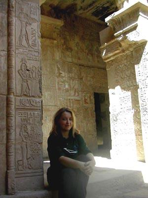 Alicia en el Templo de Hathor