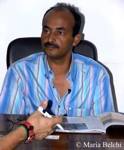 Mansour Boraik. Jefe de Antigüedades de Luxor