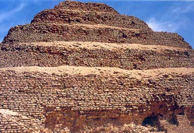 La pirámide escalonada de Sakkara